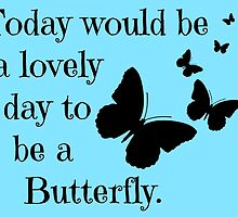 Butterfly quote by imagination-xox