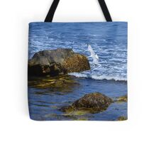 The Rocky Coast Line at Point Judith, RI [3] Tote Bag