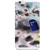 Tardis Watercolor iPhone Case/Skin