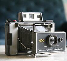 Polaroid Land Camera by LynnEngland
