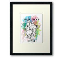 Bulletproof Heart - My Chemical Romance Framed Print
