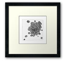 Empty Boxes Framed Print