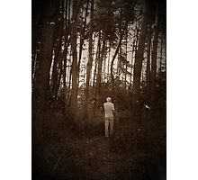 In the forest (sepia) Photographic Print