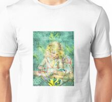 TOILING FOR HOURS IN HER FOREST OF FLOWERS Unisex T-Shirt