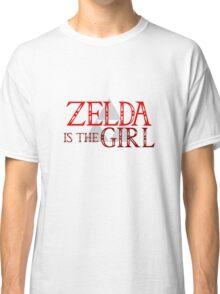 Zelda Is The Girl Classic T-Shirt