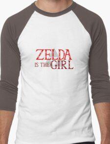 Zelda Is The Girl Men's Baseball ¾ T-Shirt