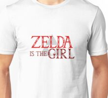 Zelda Is The Girl Unisex T-Shirt