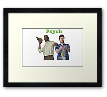 Shawn And Gus Framed Print