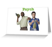 Shawn And Gus Greeting Card