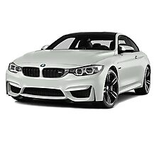 BMW M4 Photographic Print