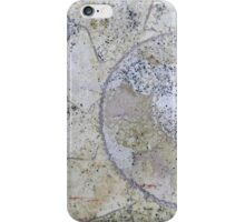 Section through an ammonite iPhone Case/Skin
