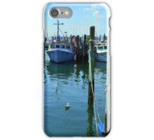 Lobster Boats at Point Judith, RI [4] iPhone Case/Skin