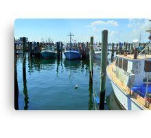 Lobster Boats at Point Judith, RI [4] Metal Print