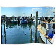 Lobster Boats at Point Judith, RI [4] Poster