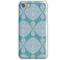 Abstract Fabric Pattern iPhone Case/Skin