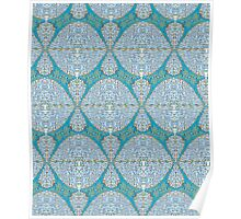 Abstract Fabric Pattern Poster