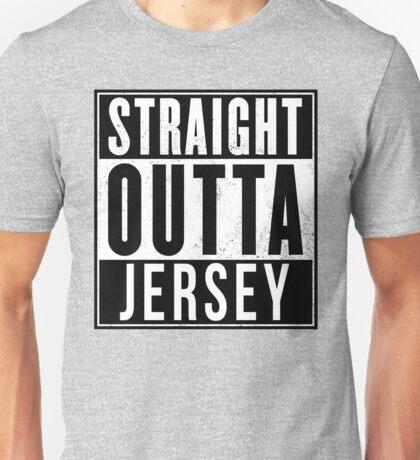 STRAIGHT OUTTA JERSEY Unisex T-Shirt