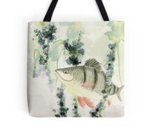 Redfin Perch Tote Bag
