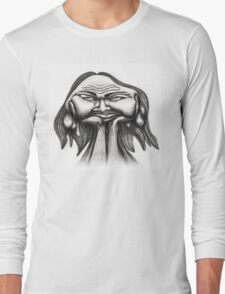 Melting Face Long Sleeve T-Shirt