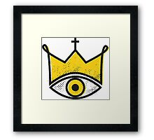 Yellow King Framed Print