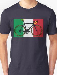 Bike Flag Italy (Big - Highlight) T-Shirt