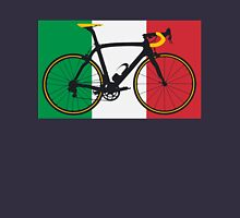 Bike Flag Italy (Big - Highlight) Unisex T-Shirt