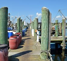 Boat Docks at Point Judith, RI [5] by Schoolhouse62