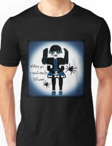 Little Goth Anime Girl Unisex T-Shirt