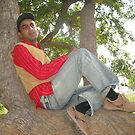 Awaitng Eyes.....Ghost on the tree by Bobby Dar