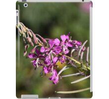 Flowers of fireweed (Chamerion angustifolium). iPad Case/Skin