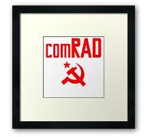 comRAD Framed Print