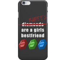 Rupees are a girls best friend iPhone Case/Skin