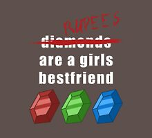 Rupees are a girls best friend Womens Fitted T-Shirt