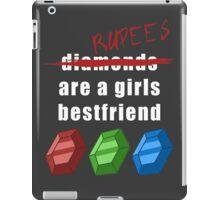 Rupees are a girls best friend iPad Case/Skin