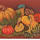 New England Squashes by Hilary Robinson