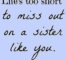 A Sister Like You by etaworks