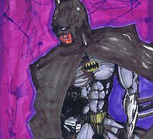 The Dark Knight, Batman # 1 by Spencer Holdsworth Art