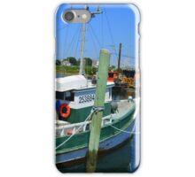 Fishing Trawler at the Docks at Point Judith, RI [7] iPhone Case/Skin