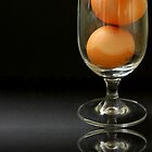 Egg Study - 2 by Carol James