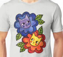 Flower Cats Unisex T-Shirt