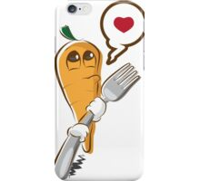 Eat me - carrot iPhone Case/Skin