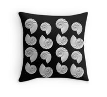 Nautilus Shells Throw Pillow
