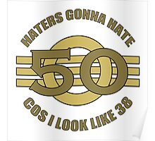50th Birthday Humor Poster