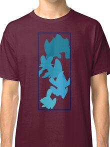Mudkip Evolutionary Chain Classic T-Shirt