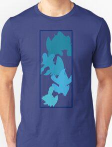 Mudkip Evolutionary Chain Unisex T-Shirt