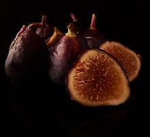 Purple Figs by Barbara Morrison