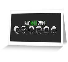 Bare Naked Gaming Greeting Card