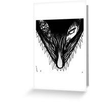 Berserker wolf Greeting Card