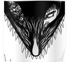 Berserker wolf Poster