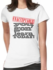 LEARN TODAY Womens Fitted T-Shirt